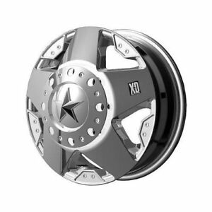 Kmc Xd775 Rockstar Dually Chrome Wheel Xd77566080299