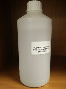 Printer Eco Solvent Cleaning Solution Roland mimaki mutoh Large Format 1 000 Ml