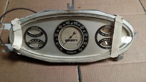 Plymouth Coupe Sedan Pd Instrument Cluster 1933 Only Rare