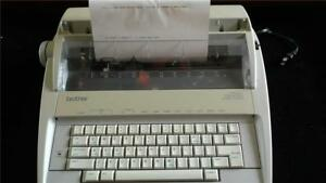 Brother Electronic Typewriter Gx 6750 Works Well Charity Proceeds To Church