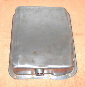 1959 1960 Lincoln Premiere Continental Orig Twin Turbo Drive Transmission Pan