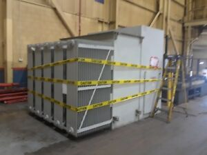 Pioneer Transformers 4000 5333kva 3 Phase 60 Hertz Oil Filled