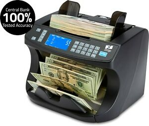 Bill Counter Cash Money Currency Count Counting Counterfeit Detector Machine