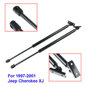 2x Tailgate Hatch Lift Supports Shock Strut Props For Jeep Cherokee Xj 1997 2001