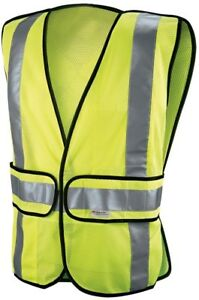 High visibility Yellow Reflective Class 2 Construction Lightweight Safety Vest