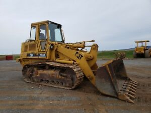 1995 Caterpillar 963b Track Loader Diesel Engine Hydraulic Hystat Machinery Cat