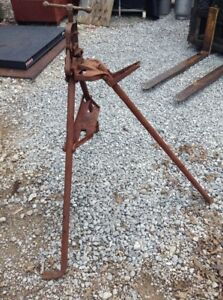 Vintage Reed Model 1s Pipe Vise Tristand Yoke