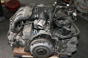 Porsche Boxster S 986 2003 2004 3 2l Complete Engine Motor Drop Out 112k Tested