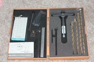 Depth Micrometer Mitutoyo 001 Japan