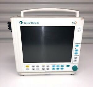 Datex Ohmeda S 5 Anesthesia Patient Monitor F cm1 2 Spirometry