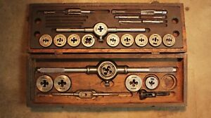 Antique Greenfield Little Giant Tap And Die Set