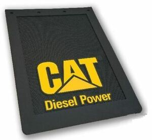 Cat Diesel Mudflaps Pair 24 X 36 Caterpillar Item Cat2669 Diesel