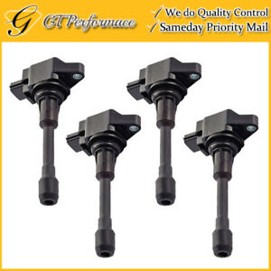 Oem Quality Ignition Coil 4pcs For Infiniti Fx50 M56 Nissan Altima Sentra Versa