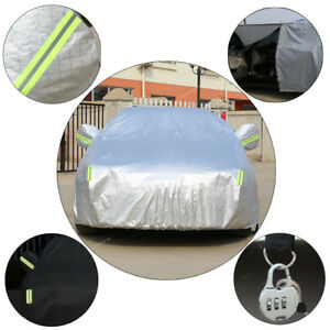 Aluminum Layer Full Body Auto Car Cover Waterproof Anti Dust Rain For Bmw 5 6 7 Fits Bmw