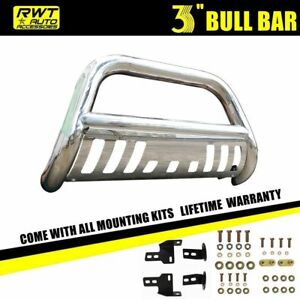 Bull Bar W Skid Plate Push Grille Guards Fits 2006 2008 Dodge Ram 1500 On Sale