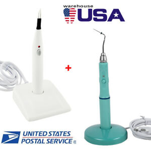 Dental Wireless Endo Heated Pen Gutta Percha tooth Gum Cutter Heated Tips