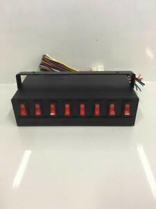Universal Control Box 8 Switches Led Light Bar Caution Emergency Upfitter Switch