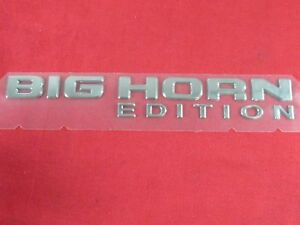 Dodge Ram Big Horn Edition Emblem Nameplate Medallion New Oem Mopar