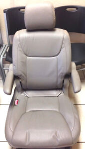 2005 Toyota Sienna Tan Leather Rear Seat Middle Row Lh Driver Left Bucket
