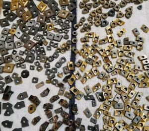 8 Pounds Of Scrap Carbide Inserts Priority Shipping