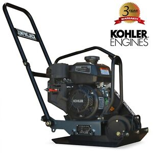4 5hp Vibratory Plate Compactor Asphalt soil Compaction With Kohler Engine
