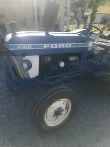 Ford 2310 Tractor With Attachments