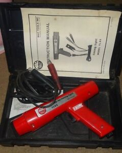 Mac Tools Professional Clamp On Timing Light With Case Tl85 1 3 Day Delivery