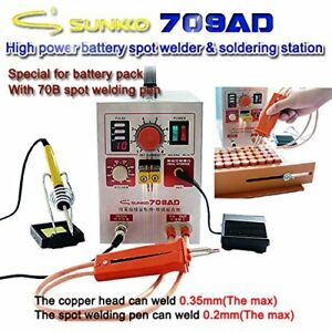 709ad Battery Pulse Spot Welder For 18650 Soldering And Welding Machine Us Ship