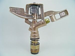 4 Rebuilt Weather Tec Old School 10 30 3 4 All Brass Impact Sprinklers 16ea