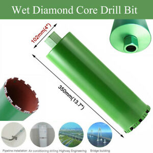 2 2 3 4 5 Wet Diamond Core Drill Bit For Concrete Premium Green Series