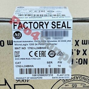 2018 2019 Us Stock Allen bradley Micrologix 1200 24point Controller 1762 l24bwa