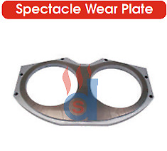 Concrete Pump Parts Big Mouth Wear Plate For Putzmeister Pump 261122002