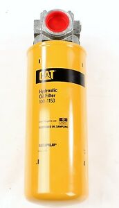 New 108 1153 Caterpillar Hydraulic Oil Filter Assembly Base