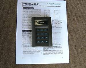Visonic Tiab Single Door Proximity Access Control Keyless Entry System With Tags