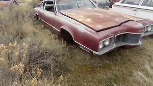 1970 Ford Thunderbird Mint Grill Dry Desert Western Part Wow Rare 1969 1971