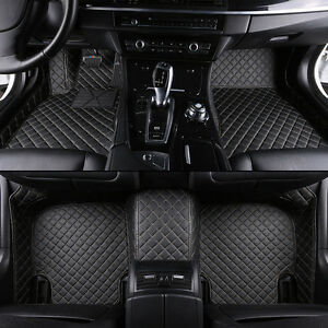 8 Colors Car Floor Mats Front Rear Liner Mat For Ford F150 Raptor 2011 2014