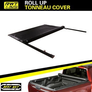 Lock Roll Up Soft Tonneau Covers Fit 2015 2018 Ford F150 6 5ft Bed Only
