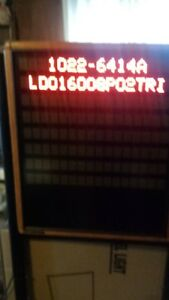 Adaptive Beta Brite Director Lighted Led Programmable Display Board sign stand