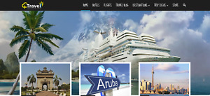 Travel Search Booking Mobile friendly Business Website Make 1 4 Per Lead