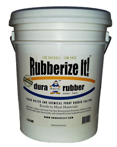 Dura rubber Liquid Rubber 5 Gallon custom Color