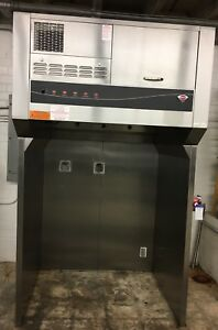 Wells Wvu 48 Universal 48 Self contained Commercial Ventless Hood W Stand