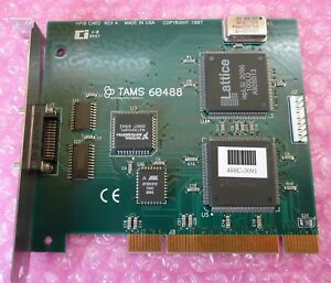 Tams 60488 488 66501 Hpib Board Rev A With Tams 70488 Sw Never Used 39961