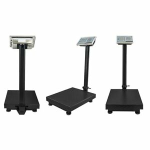 Industrial Platform Scale 600 Lb X 05 Digital Shipping Price Computing Postal