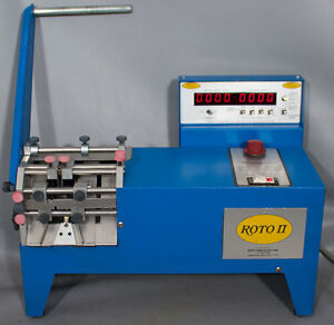 Roto Form Roto Ii 151 Tape And Reel Fed Lead Cutter Former
