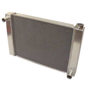 New Fabricated Aluminum Radiator 29 X 19 X3 Overall For Sbc Bbc Chevy Gm