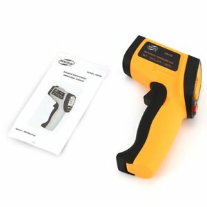 Benetech Gm700 Lcd Non contact Ir Laser Infrared Temperature Thermometer Gun Uc