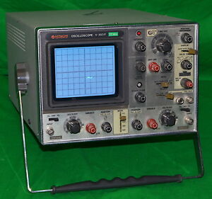 Hitachi V 203f 20mhz Oscilloscope used