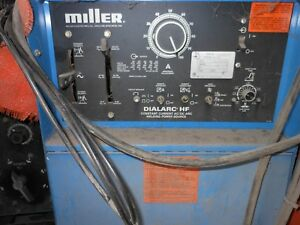 Miller Welder Dialarc Tig stick With Accessories