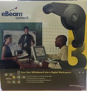 New Ebeam System 3 Turn Your Whiteboard Into A Digital Workspace