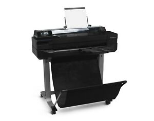 Hp Designjet T520 24 in Wide Large Format Printer Plotter Cq890c Brand New 3y w